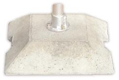 Raccord pour tube rond plot b ton - Plot en beton pour poteau ...